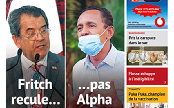TAHITI INFOS N°2007 du 14 octobre 2021