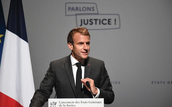 Macron lance les Etats généraux de la justice, pour une réforme post-2022