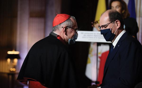Castex rencontre le pape, en pleine tempête pour l'Eglise de France
