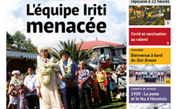 TAHITI INFOS N°2008 du 15 octobre 2021