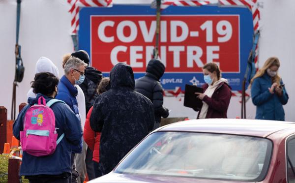 La Nouvelle-Zélande enregistre un nombre record de nouveaux cas de Covid-19
