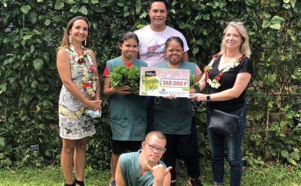 265 000 Fcfp récoltés pour le centre Papa Nui