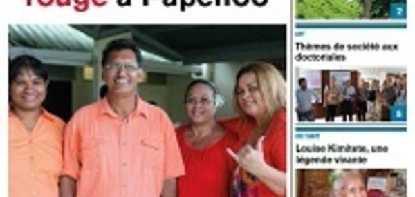 TAHITI INFOS N°168 du 16 avril 2014