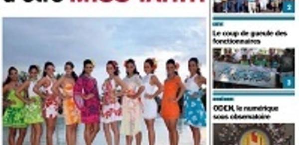 TAHITI INFOS N° 185 du 16 mai 2014