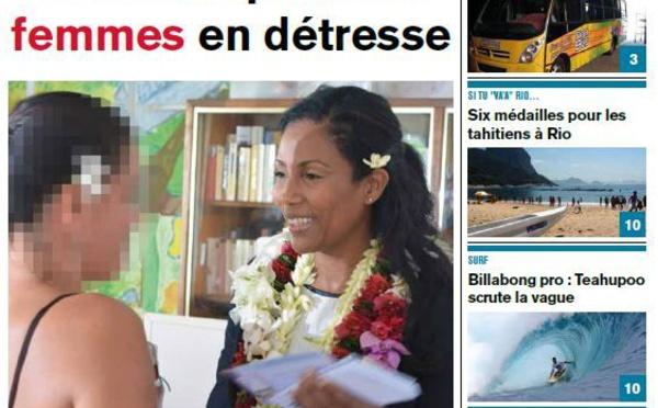 TAHITI INFOS, le journal du 14 août 2014