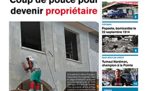 TAHITI INFOS N°259 du 22 septembre 2014
