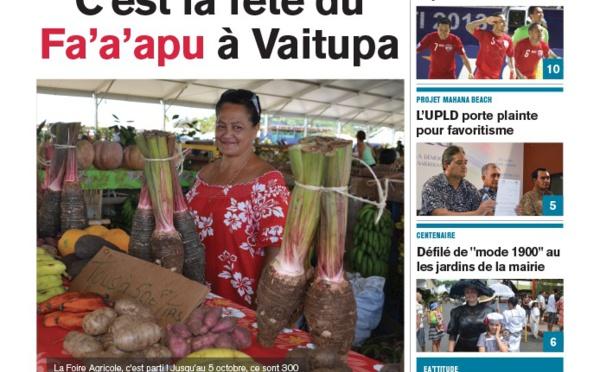 TAHITI INFOS N°263 du 26 septembre 2014