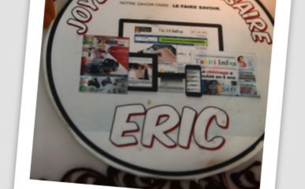 Joyeux Anniversaire Eric!