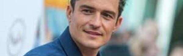 La star hollywoodienne Orlando Bloom visite la zone de conflit en Ukraine