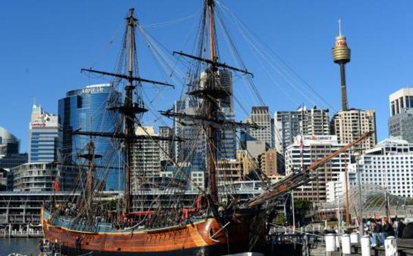 L'épave du navire de James Cook située en Nouvelle-Angleterre
