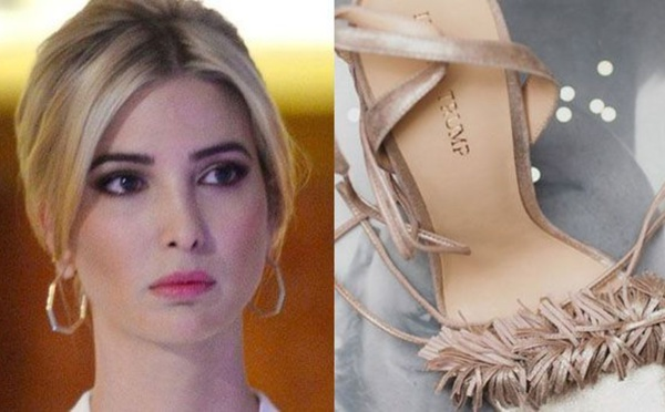 Ivanka Trump poursuivie pour copie de sandales de luxe