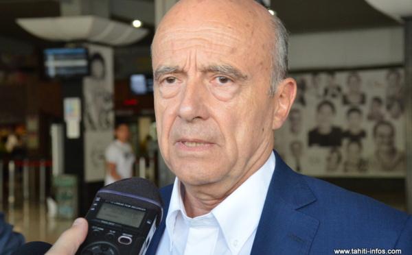 Depuis Tahiti, Alain Juppé réagit à l'attentat de St-Etienne-du-Rouvray