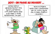 """"""" Le renoncement de Hollande """" par Munoz"""