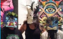 Les plus beaux Tiki-Masques ont été réalisés par Florent Jullien et Lionel Jullien.
