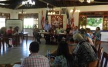 Le ministre de l'Equipement, Luc Faatau était invité vendredi dernier au comité de suivi des grands projets de la commune de Papara.