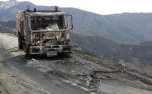 Plusieurs centaines d'hectares partent en fumée en Corse, cinq pompiers blessés
