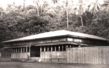 Dans les années 60, le bar dancing Lafayette était en bambou avec de grandes ouvertures sur l'extérieur.
