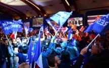 """A Hénin-Beaumont, des militants """"persuadés"""" de la victoire de Le Pen"""