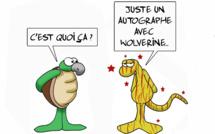 """ Hugh Jackman au fenua "" par Munoz"
