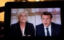 """""""Compte aux Bahamas"""": Le Pen ne se sent """"pas du tout"""" visée par la plainte de Macron"""