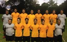 La sélection de Tahiti de futsal