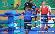 Benoit Raja n'a rien pu faire contre le Kazakh