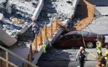 Effondrement d'un pont à Miami: au moins 6 morts