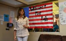 La discrète Melania Trump surprend en rencontrant des enfants sans-papiers