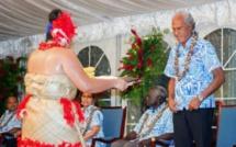 Le Premier ministre des Tonga propose à ses homologues un concours de perte de poids