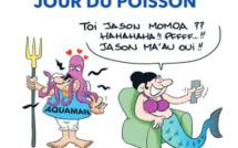 """"""" Aquaman """" vu par Munoz"""