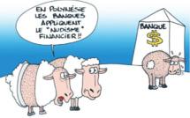 """"""" Les tarifs bancaires """" vu par Munoz"""