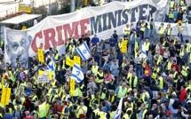 """Des """"gilets jaunes"""" israéliens manifestent contre la hausse des prix"""