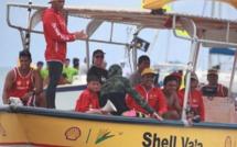 Encore un succès pour Shell Va'a