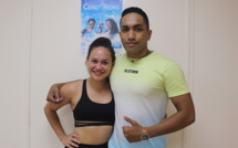 Ateliana Ruiz et Thomas Teheiuru, danseurs des All in one et professeurs de danse à la All in one dance company.