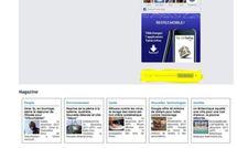 Un moteur de recherche Google sur la page d'accueil de Tahiti Infos