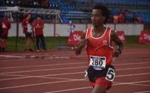 """""""A cinq tours de la fin je me sentais bien et je voyais que le Fidjien avait du mal. Je me suis dit que c'était le moment d'accélérer et de le dépasser"""", a indiqué Samuel Aragaw à l'issue de sa course."""