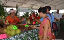 La foire agricole se tiendra du 25 septembre au 6 octobre sur la vaste esplanade de Vaitupa à Faa'a. Crédit archives TI.