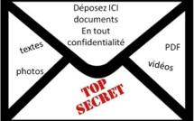 Nouveau service TOP SECRET: Envoyez vos documents en toute confidentialité à Tahiti Infos