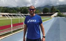 Laurent Hernu, multiple champion de France de décathlon, finaliste aux championnats du monde et aux Jeux olympiques, a posé ses valises au fenua à la mi-décembre.