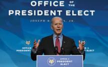 Ignorant le chaos Trump, Biden tente de se poser en président d'action