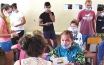 L'intervenante de la protection judiciaire de la jeunesse (PJJ) a rencontré 130 collègiens de Nuku Hiva. Des échanges interactifs autour de la délinquance étaient organisés.