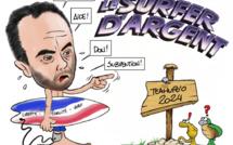 """""""Le surfer d'argent"""", par Munoz"""