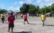 Les champions de pétanque de Rangiroa en route pour le championnat de Tahiti