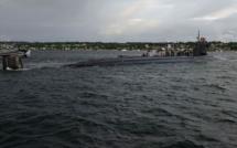 Un sous-marin américain heurte un objet non identifié en mer de Chine