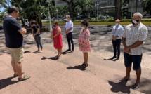 L'Unsa Éducation rend hommage à Samuel Paty à Papeete