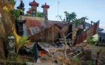 Un séisme fait trois morts et sept blessés à Bali