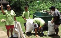 Nuku Hiva : journée verte au lycée bio