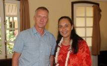 Tea Frogier reçoit le nouveau directeur de l'IFREMER