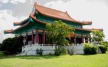 Le temple chinois de Tahiti à l'architecture bien orientale. Photo Guy Tcheong