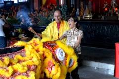 f-Les cérémonies du Nouvel an sont la principale fête culturelle chinoise